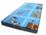 Dětská molitanová matrace LUKA - modrá