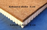Kokosová matrace s latexem  LAKO