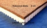 Kokosová matrace s latexem LAKO - 190 x 80 - 200 x 90 x 14 Madex