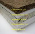 Sendvičová matrace latexová + kokosová deska SLAKO
