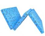 Skládací matrace do postýlky, Zvířatka modrá